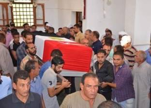 قرية الروضة بالمنوفية تستعد لتشييع جثمان الشهيد محمد عبد العظيم