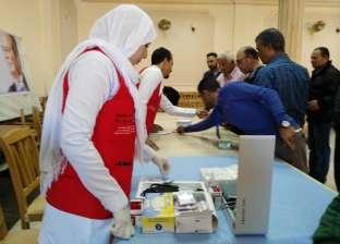 """فحص 5587 حالة في حملة """"100 مليون صحة"""" بشمال سيناء"""