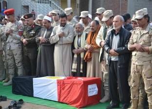 بث مباشر  الجنازة العسكرية لشهيد الإسكندرية أيمن عبد الرحيم