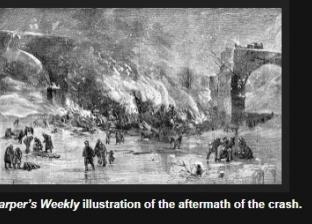 """أشباح ضحايا قطار أوهايو يظهرون على الجسر  المحترق.. """"سماع ضوضاء غريبة"""""""