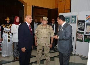 """طارق الجمال يستقبل وفد لجنة تقييم مسابقة """"أفضل جامعة مصرية"""""""