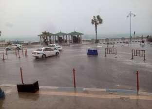 """بالصور  """"بشاير الشتا"""".. محافظات الدلتا ومطروح تسبح في مياه الأمطار"""