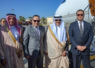 """سلطان بن سلمان آل سعود يودع الإسكندرية بعد حضور مجلس """"السياحة العرب"""""""
