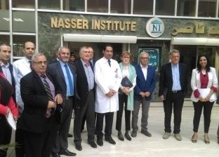 خبراء جراحات أورام من فرنسا يزورون معهد ناصر