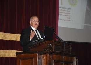 """""""الخشت"""": توحيد أكواد طلاب جامعة القاهرة وتفعيل """"التحصيل الإلكتروني"""""""