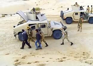 مقتل إرهابييْن وإصابة مجند فى هجوم على قوة أمنية غرب رفح