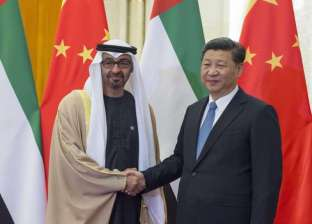 الرئيس الصيني يستقبل ولي عهد أبوظي محمد بن زايد في بكين