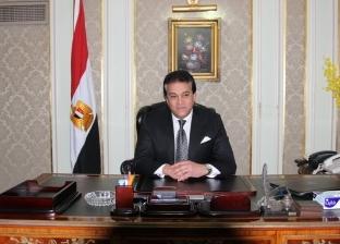 """وزير التعليم العالي: التعاون مع بنك المعرفة المصري """"مهم جدا"""""""