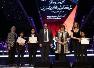 وزير الثقافة تسلم جوائز مهرجان ومؤتمر الموسيقى العربية الـ28