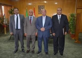 بالصور| محافظ الإسماعيلية يستقبل رئيس محكمة المحافظة