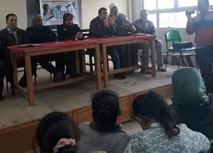 قافلة بقرية محلة نصر بشبراخيت للتوعية بمخاطر الزيادة السكانية