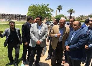 شعراوي يطالب بسرعة الانتهاء من أعمال التطوير في السويس