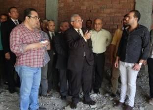 افتتاح قسم الاستقبال والطوارئ بمستشفى المنيا الجامعي