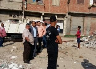 حملات لإزالة الإشغالات بـ9 مناطق في الإسكندرية