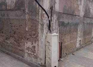 """""""كهرباء حي شرق الإسكندرية"""" تتابع أعمال رفع مستوى الإضاءة"""