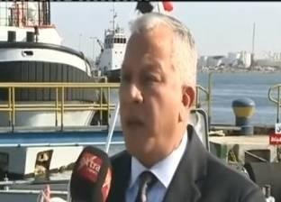 رئيس ميناء دمياط يلتقي تحالف البنوك المصرية لتمويل محطة الحاويات