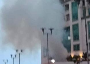 السيطرة على حريق في مستشفى الطلبة الجامعي بالإسكندرية