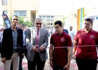 """""""طلاب من أجل مصر"""" تفتتح معرض الأنشطة الطلابية في جامعة المنصورة"""
