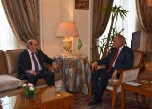 """أبو الغيط يبحث مع """"الفاو"""" سبل التعاون العربي في مجالات الزراعة"""