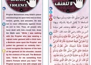 """الأزهر يطلق حملة """"لا للعنف"""" باللغتين العربية والإنجليزية"""