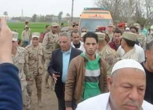 """أهالي أبو حمص يشيعون جثمان شهيد سيناء """"محمود توفيق"""""""