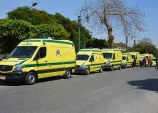 """""""الصحة"""": الدفع بـ8 سيارات إسعاف لموقع حريق مستودع أبنوب.. ولا إصابات"""