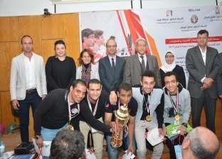 جامعة أسيوط الأولى في الأولمبياد الثالث لكليات الحاسبات والمعلومات