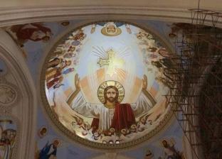 """""""الكاتدرائية"""" تتزين بصور شهداء الإرهاب قبل افتتاحها الشهر المقبل"""