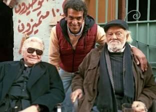 """حسين فهمى يواصل تصوير مسلسل """"السر"""" باستديو مصر مع المخرج محمد حمدي"""