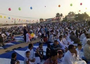 الآلاف في البحيرة يؤدون صلاة عيد الفطر المبارك