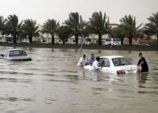 السيل يضرب السعودية.. تعليق الدراسة وغرق جدة و1989 بلاغ استغاثة