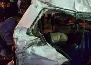إصابة 6 أشخاص في انقلاب سيارة ملاكي بترعة نجع حمادي في أبوتيج