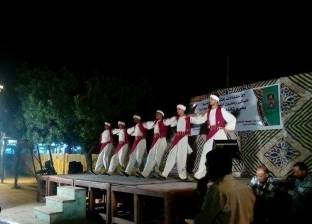 فرقة الفنون الشعبية بالوادي الجديد تشارك في احتفالية تعامد الشمس