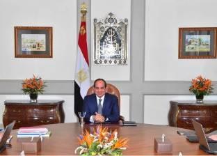 """""""السيسي"""": مصر حريصة على تعزيز التعاون مع المجموعة الاقتصادية الصينية"""