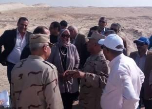 """""""الوزير"""" يشيد بـ""""المقاولون العرب"""" خلال تفقد كوبري الشهيد أحمد منسي"""