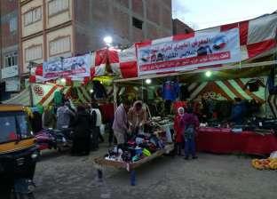 """حزب """"النور"""" بالإسكندرية ينظم سوقا لبيع الملابس الشتوية بسعر التكلفة"""