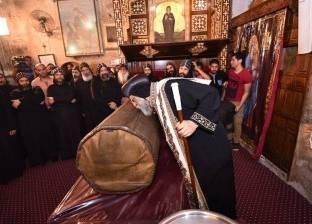 البابا تواضروس يطيب رفات الأنبا بيشوي: عاش حياته بالإنجيل وديعا ناسكا