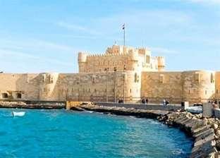 """""""الشواطئ"""" تنتهي من تنفيذ المرحلة الأولى لحماية قلعة قايتباي من التآكل"""