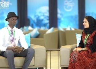 """ممثل لـ""""الكونغو"""" في منتدى شباب العالم لـ""""الوطن"""": السيسي نموذج للقائد"""