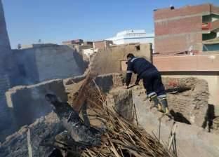 """""""نيابة الفيوم"""" تطلب تحريات المباحث الجنائية بشأن حريق بمنزل بالغرق"""