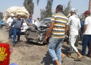 إصابة 3 أشخاص في انقلاب سيارة ملاكي بوادي النطرون