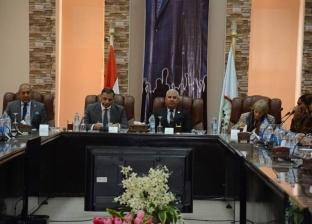 محافظ مطروح يستعرض جهود التنمية أمام مستشاري الرئيس