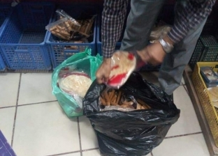 إعدام 471 كيلو أغذية فاسدة وغلق 24 منشأة في البحر الأحمر