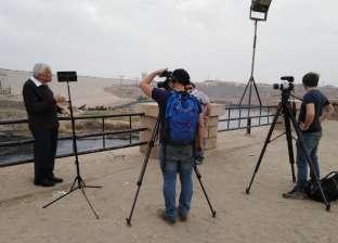 وفد فرنسي يصور فيلما عن النيل في أسوان