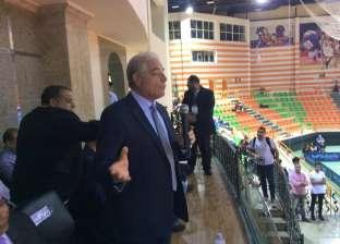«فودة» يطلق إشارة بدء البطولة الدولية لتنس الطاولة بشرم الشيخ