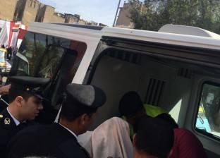 إصابة ملازم شرطة و10 مجندين في انقلاب سيارة أمن مركزي بطريق بورسعيد