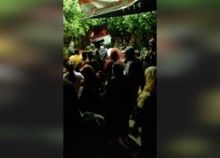 إقبال كثيف على مدرسة شهداء أبوصير قبل غلق لجنة الاستفتاء