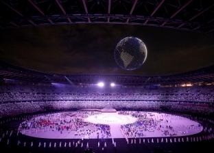 كيف تم رسم الكرة الأرضية أعلى الملعب الأولمبي في حفل افتتاح أولمبياد طوكيو