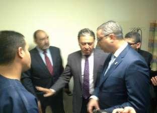 وزير الصحة يتفقد مستشفى طابا.. ويؤكد: 1400 جنيه بدل انتقال لفريق دعم الأطباء