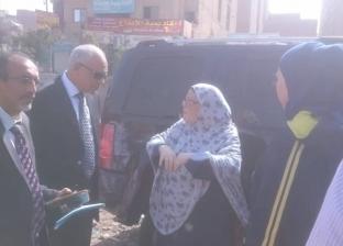 محافظ الجيزة: رفع 1400 طن مخلفات من العجوزة خلال أسبوعين